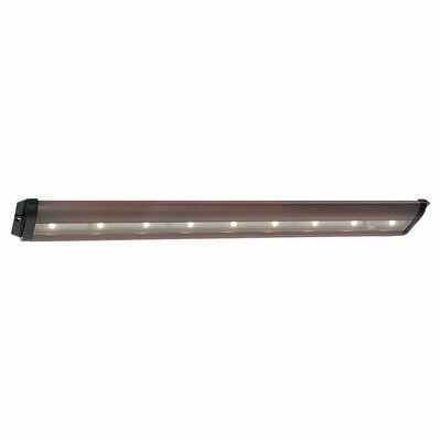 Ambiance 19 LED Under Cabinet Bar Light Finish: Plated Bronze