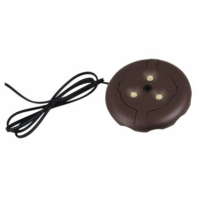 Ambiance LED Under Cabinet Puck Light Finish: Plated Bronze