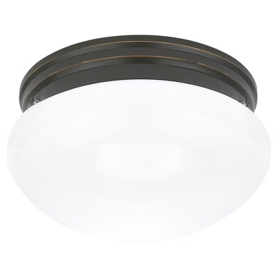 Inga 6-Light Flush Mount Finish: Heirloom Bronze