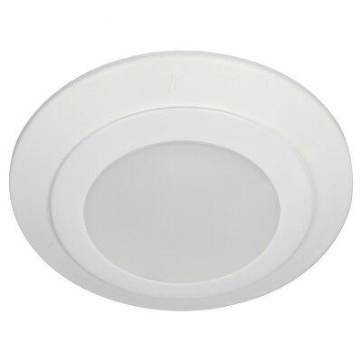 Traverse LED Flush Mount Bulb Color Temperature: 3000K, Size: 4