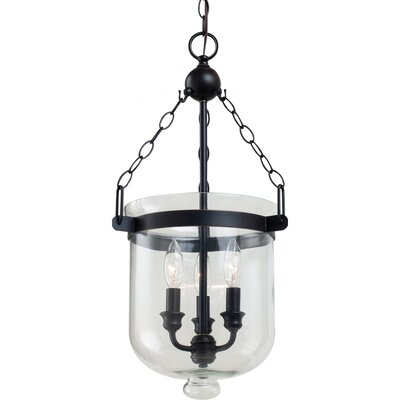 Graham 3 Light Indoor Pendant Size: Small