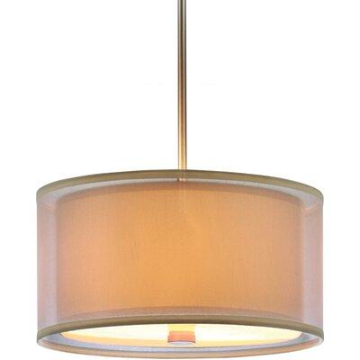 Jordyn 3 Light Shade Pendant Bulb type: 100W Line Medium