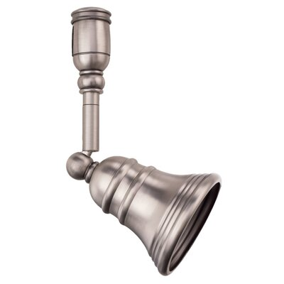 Traditional 1-Light Track Head Finish: Antique Brushed Nickel