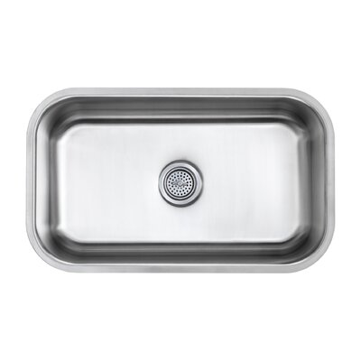16 Gauge Stainless Steel 30 x 18 Undermount Kitchen Sink