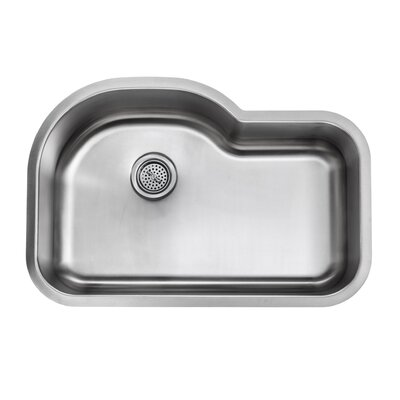 18 Gauge Stainless Steel 31.5 x 21.13 Undermount Kitchen Sink