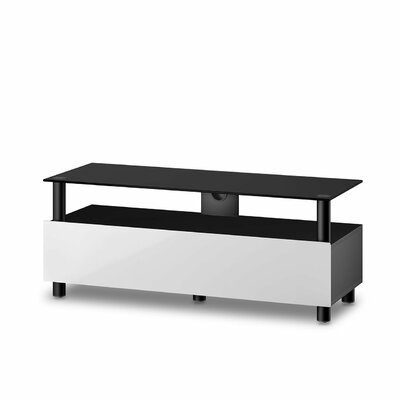 Asuncion Modern 65 TV Stand Color: White