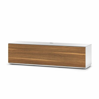 Auld Studio 65 TV Stand Color: Walnut/White