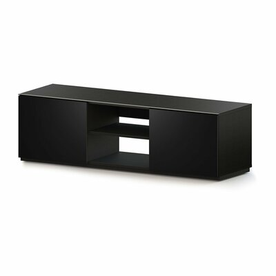 Auman Modern 70 TV Stand Color: Black
