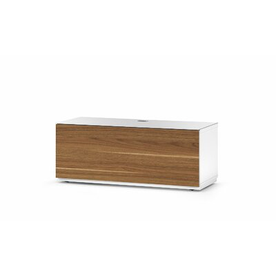 Dixie Studio 43.34 TV Stand Color: Walnut/White