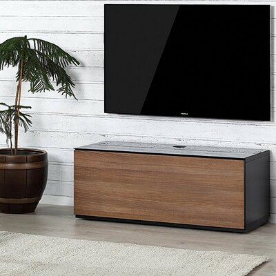 Dixie Studio 43.34 TV Stand Color: Walnut/Black