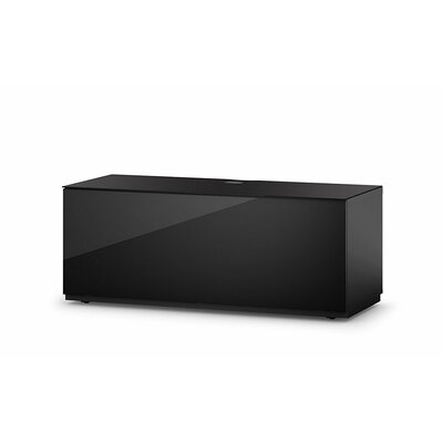 Dixie Studio 43.34 TV Stand Color: Black/Black