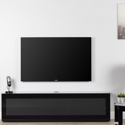 Dillen Studio 65 TV Stand Color: Black/Black