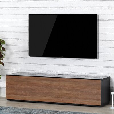 Auld Studio 65 TV Stand Color: Walnut/Black