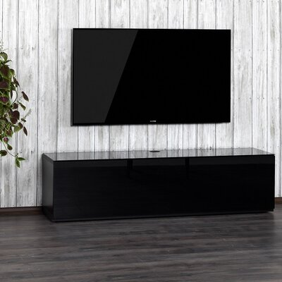Auld Studio 65 TV Stand Color: Black/Black