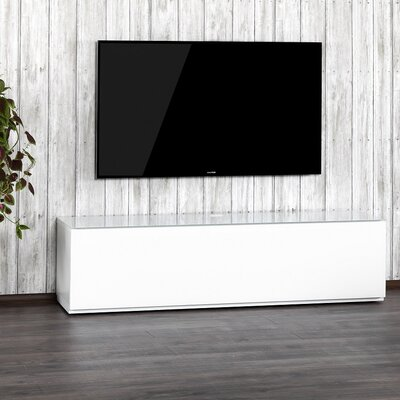 Auld Studio 65 TV Stand Color: White/White