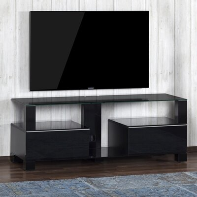 Atalanta Modern 65 TV Stand Color: Black