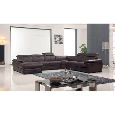 Baratta Reclining Sectional Orientation: Left Hand Facing