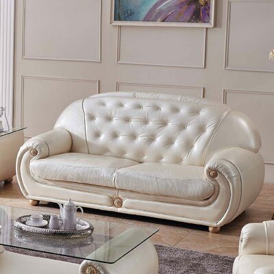Alleyne Leather Sofa