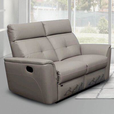Alexia Leather Reclining Loveseat