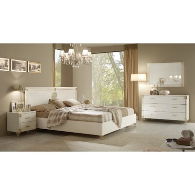 Alpha Platform Customizable Bedroom Set