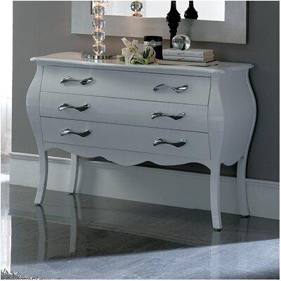 Amalia 6 Drawer Dresser Color: White