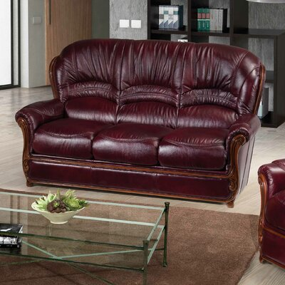 Leslie Leather Sofa