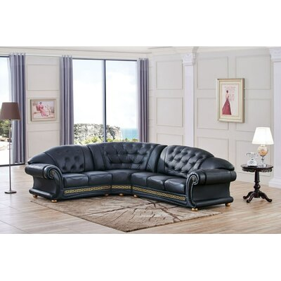 Berrylawn Curved Sectional Orientation: Left Hand Facing