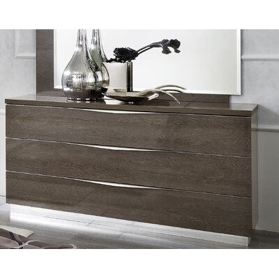 Asberry 3 Drawer Dresser