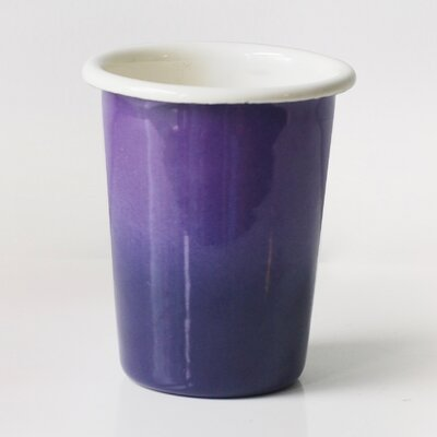 Tavis 10 oz. Insulated Tumbler Color: Purple/Eggplant