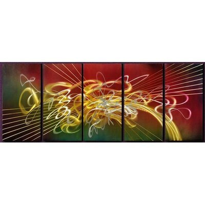 'Symphony' Graphic Art Print Multi-Piece Image on Metal