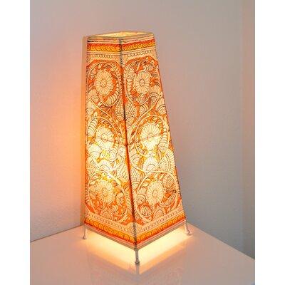 7.5  Leather Rectangular Lamp Shade