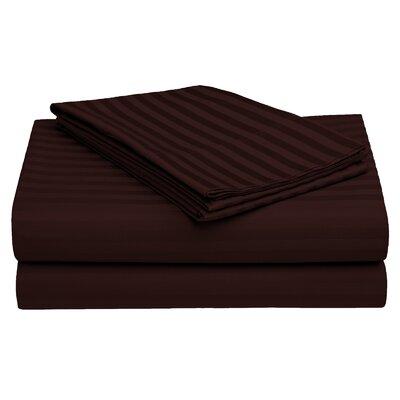 Harding Cotton Pillow Case Color: Brown