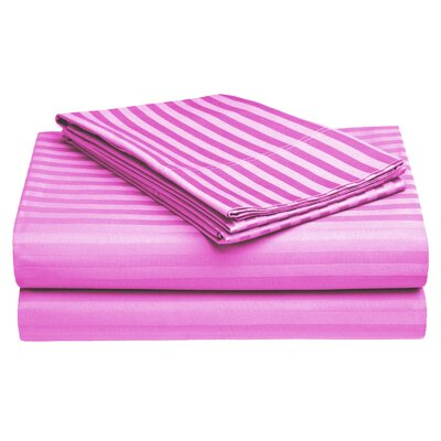 Harding Cotton Pillow Case Color: Baby Pink