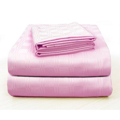 Alvarenga Plaid Cotton Pillow Case Color: Baby Pink