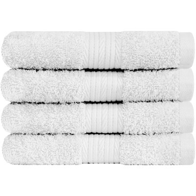 Solid Hand Towel Color: White