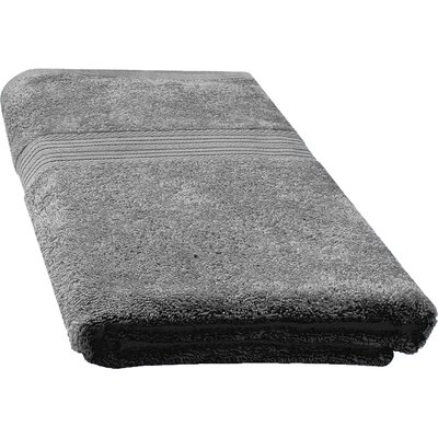 Ringspun Bath Towel Color: Grey