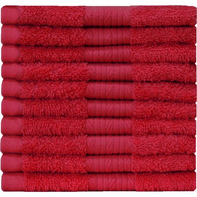 Carwile Washcloth Color: Tango Red