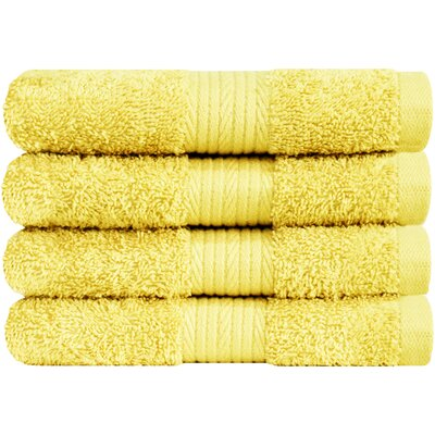 Solid Hand Towel Color: Banana