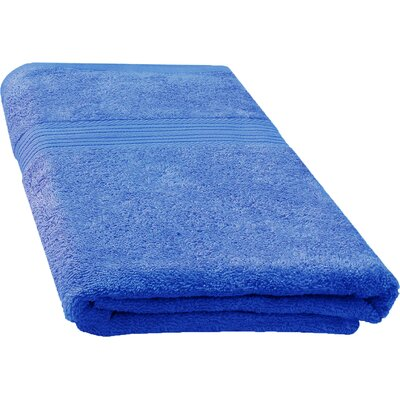 Ringspun Bath Towel Color: Navy