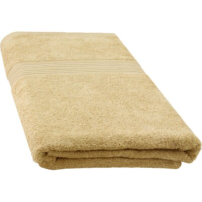 Ringspun Bath Towel Color: Beige