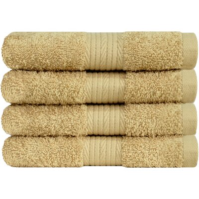 Solid Hand Towel Color: Beige
