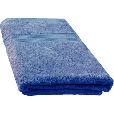 Ringspun Bath Towel Color: French Blue