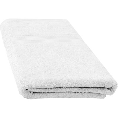 Ringspun Bath Towel Color: White