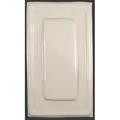 Quadrus Narrow 5.5 x 8.5 Ceramic Decorative Accent Tile in White