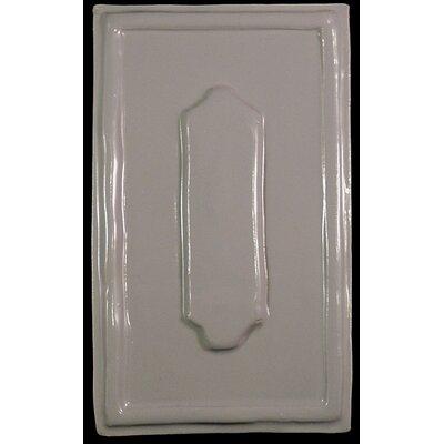 Convexus Narrow 5.5 x 8.5 Ceramic Decorative Accent Tile in Gray