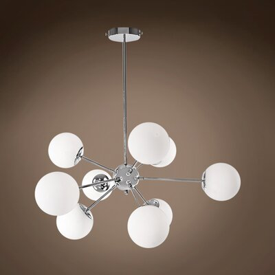 Kailee 9-Light LED Cluster Pendant