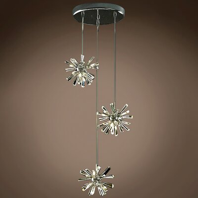 Alexa 12-Light Crystal Pendant