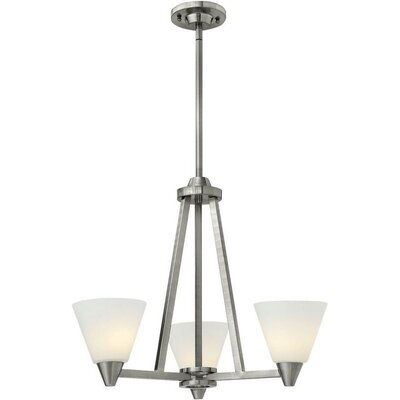 Piscitelli 3-Light Candle-Style Chandelier