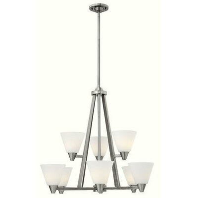 Piscitelli 9-Light Candle-Style Chandelier