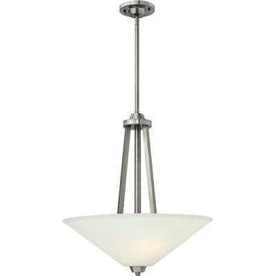 Piscitelli 3-Light Bowl Pendant